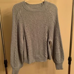 American Eagle Light Blue Knitted Sweater